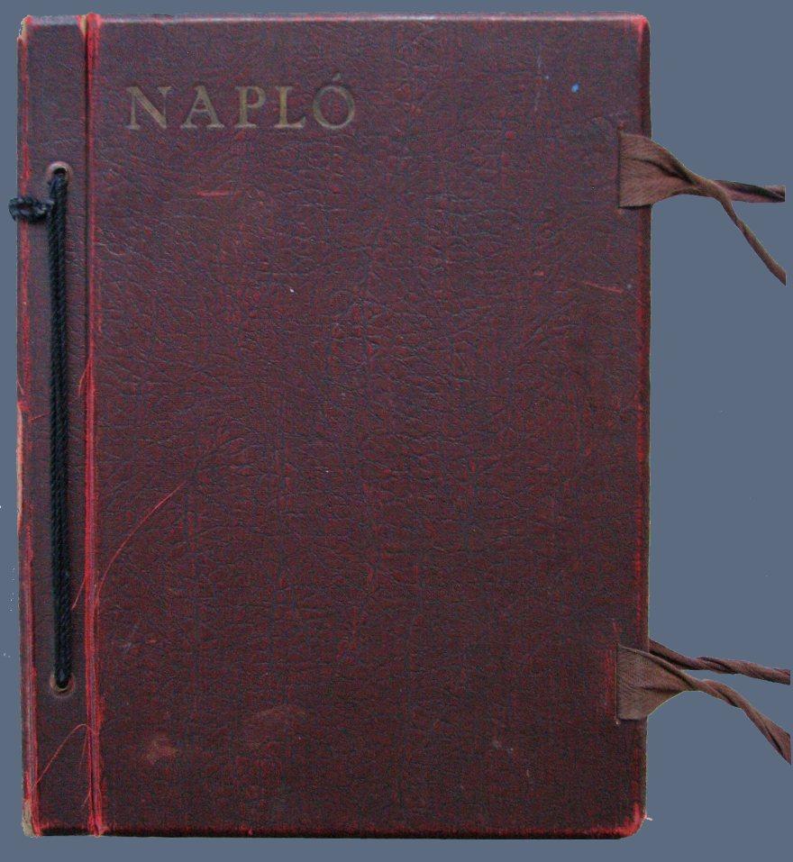 NAPLÓ ARTIST'S BOOK