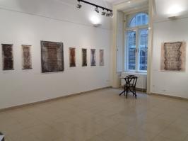 Diane Sophrin Exhibition Installation