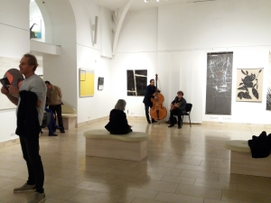 Garden of Exile Exhibit Opening Night - 2